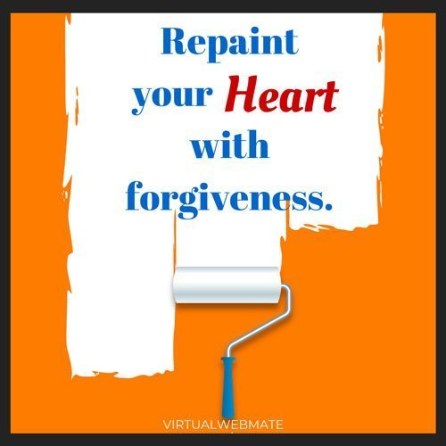 repaint heart with forgiveness by virtualwebmate portfolio