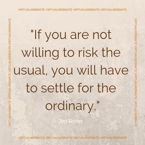 risk or settle the ordinary by virtualwebmate portfolio