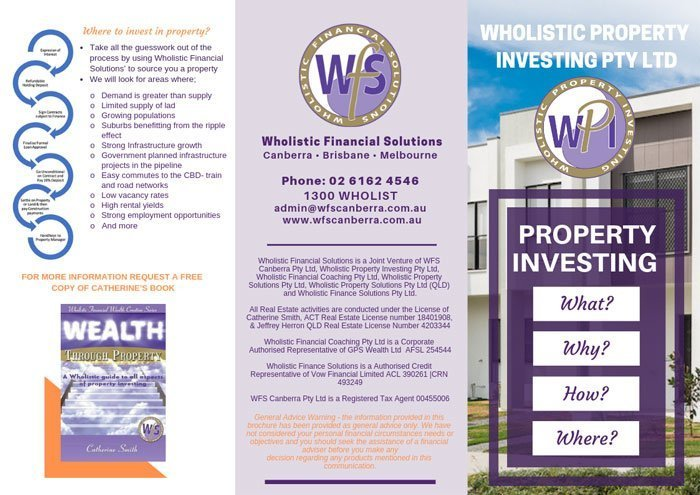 wholistic financial solutions by virtualwebmate portfolio